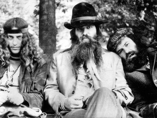 three hippies