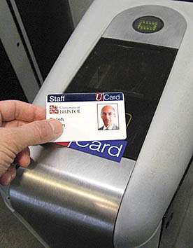 ASSL barrier with smartcard