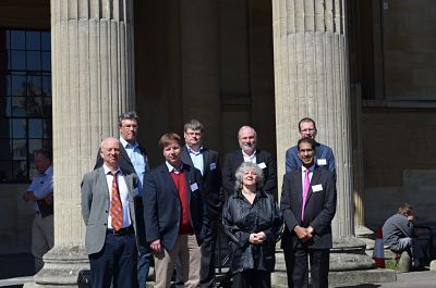 Photo of Speakers as Bristol Synthesis Meeting 2014