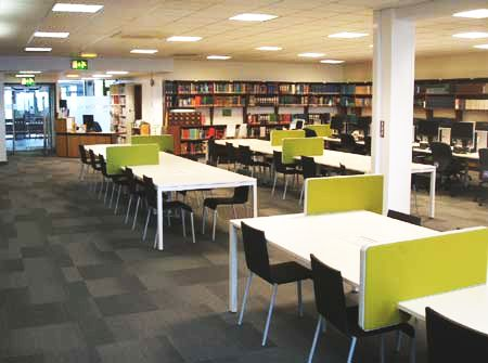The Chemistry Library after the refurbishment