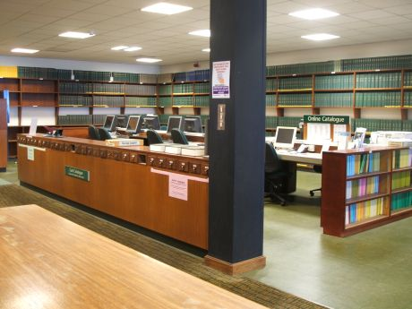 The Chemistry Library before the refurbishment