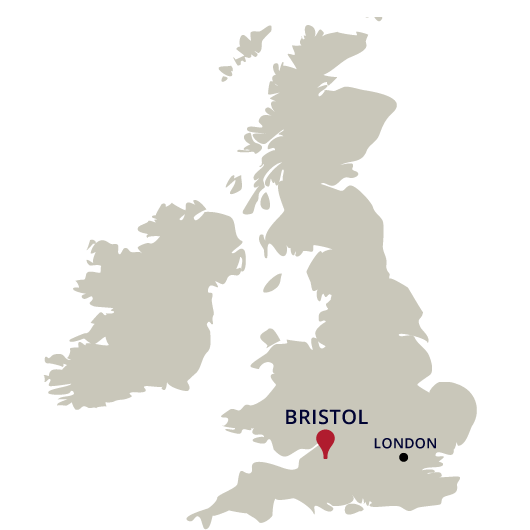 Map Of Uk Bristol.The City Of Bristol The City Of Bristol University Of Bristol