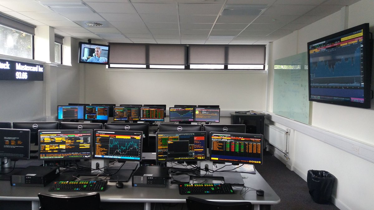 University Of Bristol Trading Room