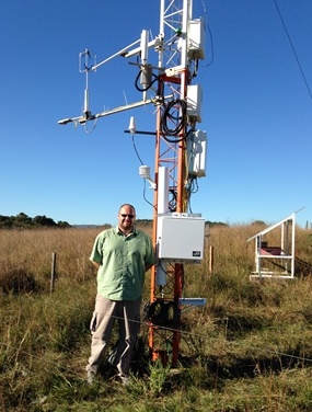 New NERC project to investigate soil moisture dynamics in the UK using novel cosmic-ray technology