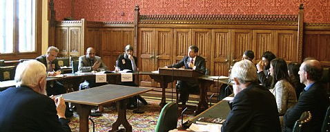 Consultation event in parliament