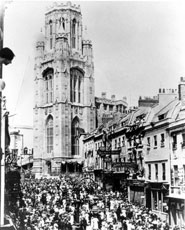 The opening of the Wills Memorial Building in 1925