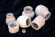 Examples of early Neolithic cooking vessels providing the earliest organic residue evidence for milk use and processing.