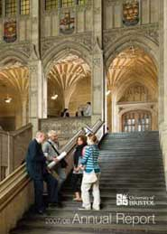 The cover of the 2007/08 Annual Report