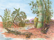 Ancient reptiles conquer continental interiors