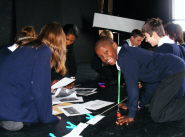 Pupils enjoy the Black History Month workshops