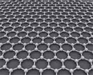 Graphene is an atomic-scale honeycomb lattice made of carbon atoms
