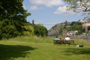 View of the Clifton Suspension Bridge