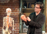 Professor Bruce Hood delivers the Christmas Lectures