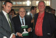 Lionel Barber, Editor of the Financial Times, Sir Samuel Brittan and Professor Roger Middleton