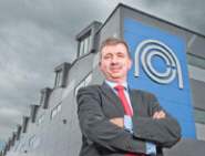 Peter Chivers, Chief Executive of the NCC, outside the award-winning building