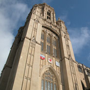The tower of the Wills Memorial Building