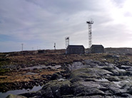 The Mace Head research station at Carna, Co Galway, Ireland which has been measuring greenhouse and ozone depleting gases since 1987