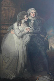 Joseph Holman and Anne Brunton as Romeo and Juliet (Act V) (c1787) by Mather Brown