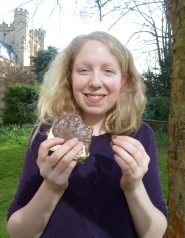 Rose Codner, who plans to set up a chocolate making business to help asylum seekers