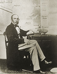 A photograph of Charles Moore c1860