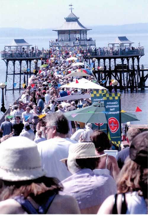 Image of Clevedon Pier open day
