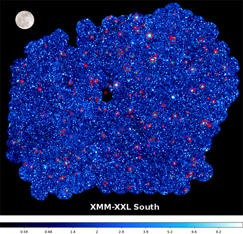 XMM image of the southern XXL panorama