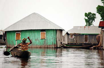 Image of flooding in the developing world