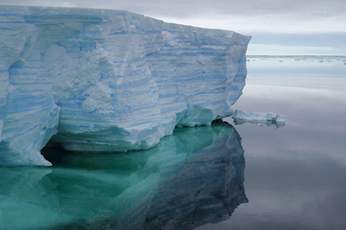 Image of ice in Antartica
