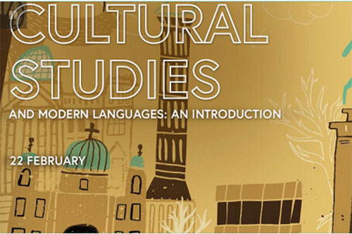 Image from poster advertising the Cultural Studies MOOC