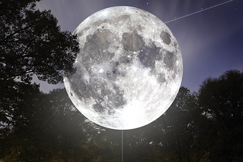 june museum of the moon a new artwork by luke jerram to be