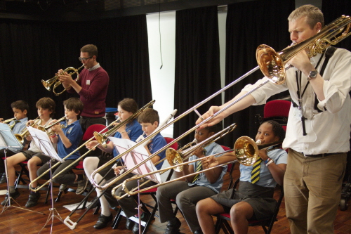 June: Primary Cluster Orchestra Day | News | University of Bristol
