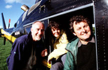 Time Flyers, Dave MacLeod, Jo Caruth and Dr Mark Horton