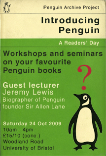 Intro to Penguin day poster
