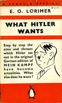 'What Hitler Wants' cover