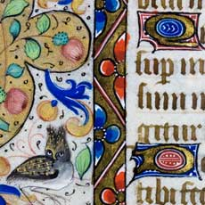 Detail from the 'Cobden Book of Hours'