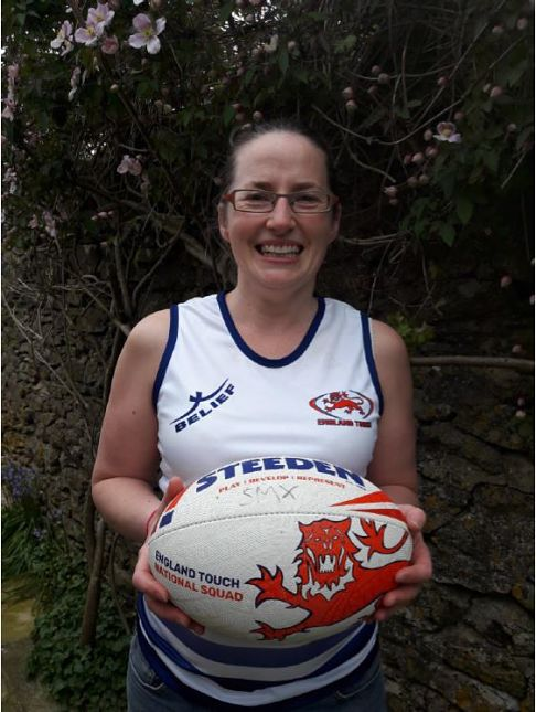 Katy Chalmers rugby