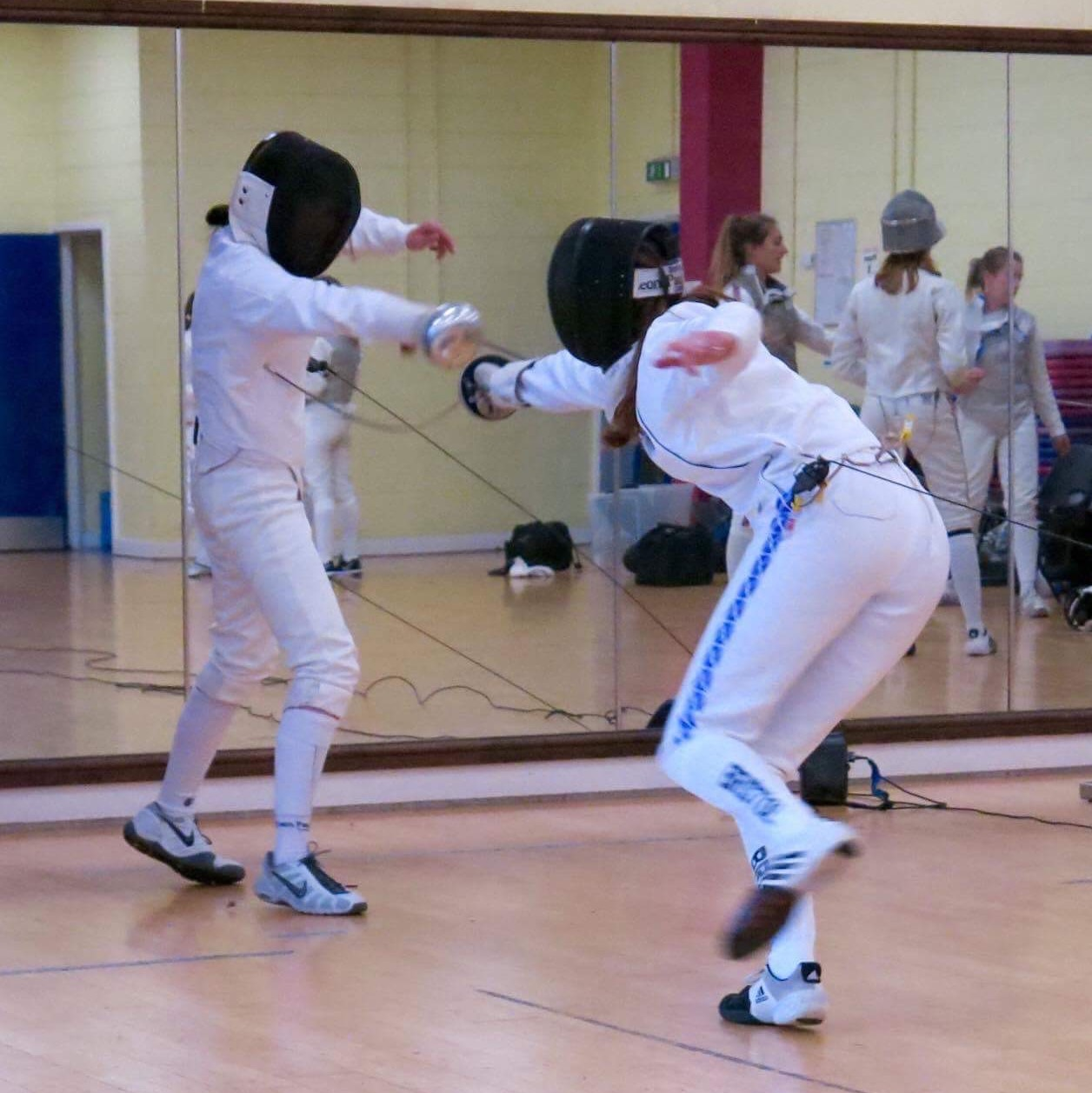 2017 Women Fencing Sport Exercise And Health