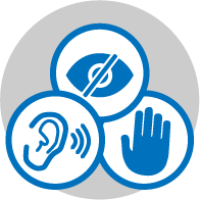 Image: accessibility symbol.