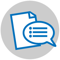 Image: Assessment icon.