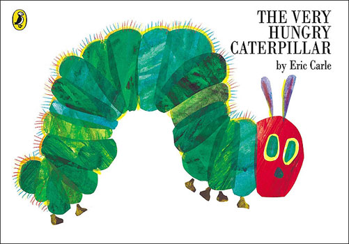 Cover of 'The Hungry Caterpillar'