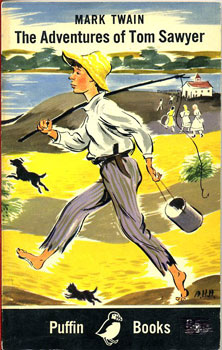 Cover of 'The Adventures of Tom Sawyer'