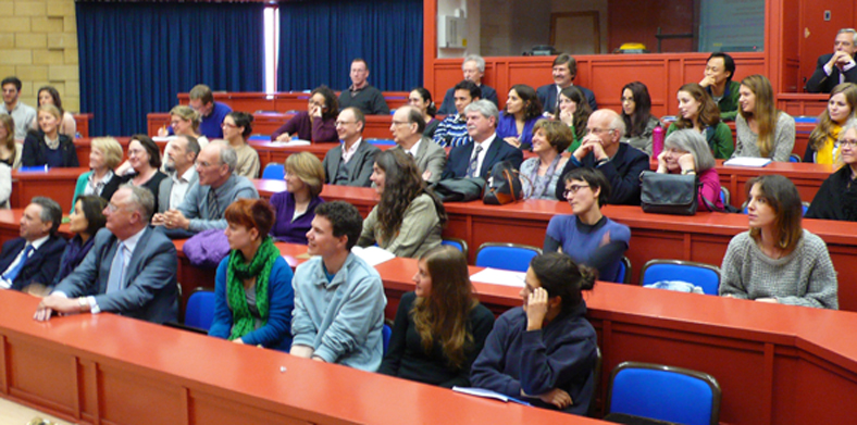 Audience at the Costeloe memorial lecture