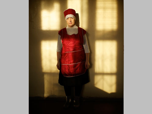 'Portrait of Nadezhda (the dinner lady at our school in Yaroslavl)' by Harry Engels