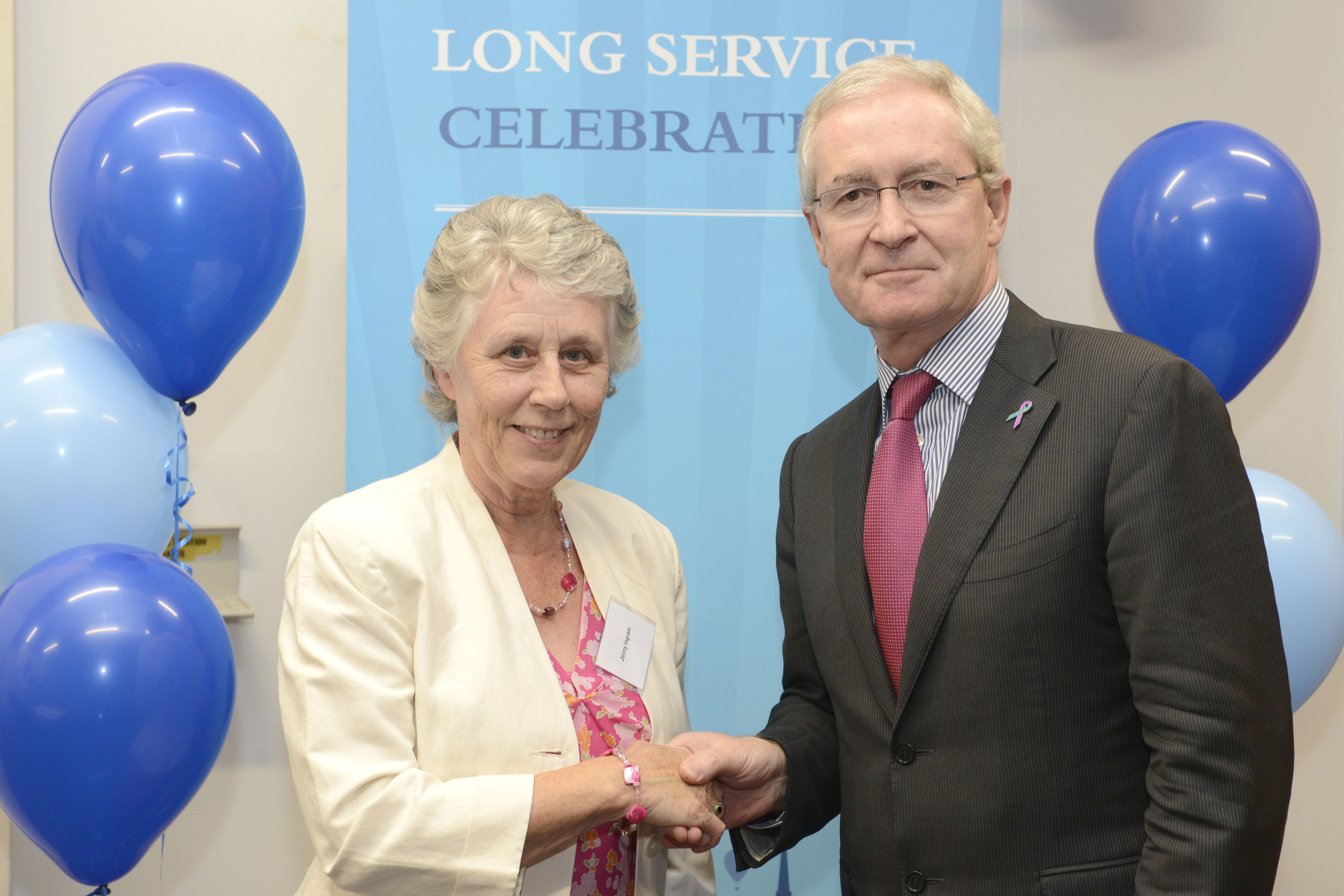 Jenny Ingram - Long Service Award