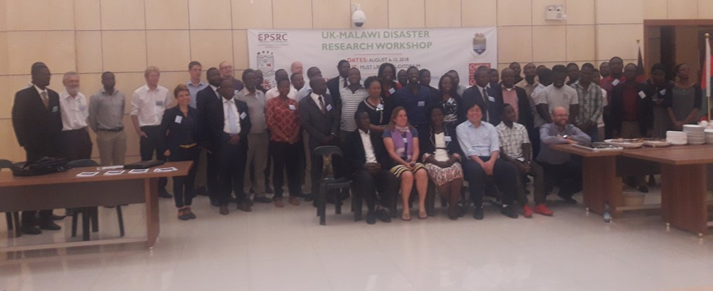 Line of researchers who attended the PREPARE Africa workshop in August 2018