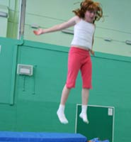Trampolining - one of the activities on offer