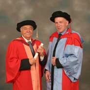 Image of Mr Pasquale Pistorio and Professor David May