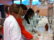 Students using the ChemLabS facilities