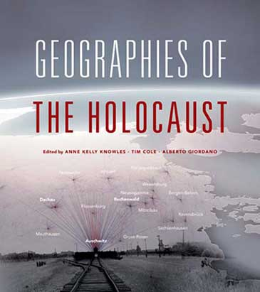 Image of the cover of Geographies of the Holocaust