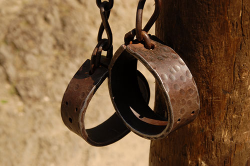 Image of some manacles